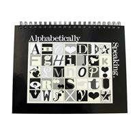 Teacher Peach Alphabet Notebook Journal