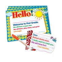 Teacher Peach Welcome Kits
