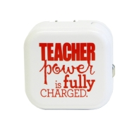 Teacher Peach Power Adapter