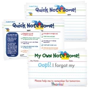 Teacher Peach Quick Notes Home Mega Set
