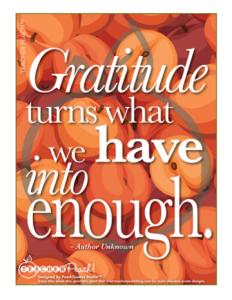 PeachQuotes Studio Gratitude