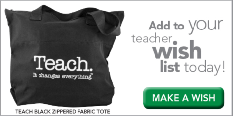 Teacher Peach Wish List