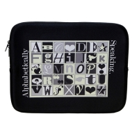 Alphabetically Speaking Laptop Case