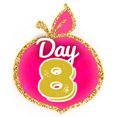 Teacher Peach 12 Days DAY 8 Peach