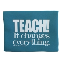 Teach It Changes Everything Tech Bag