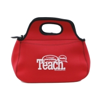 NEOPRENE ZIPPERED LUNCH BAG