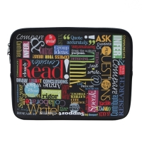 Words to Grow By Laptop Case
