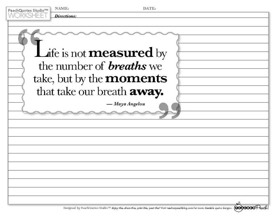 01-11-16_QUOTEWKSHEET_LifeIsNotMeasured