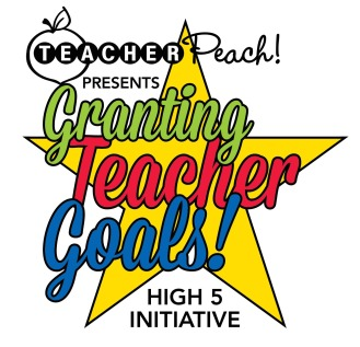 Teacher Peach Granting Teacher Goals
