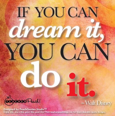 TP PQS Walt Disney Dream It Do It