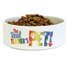 Teacher Peach Cat Bowl
