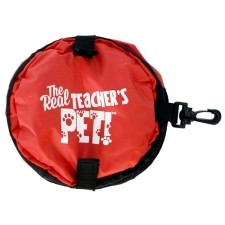 Teacher Peach Travel Pet Water Bowl