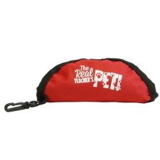 Teacher Peach Travel Pet Food Bowl